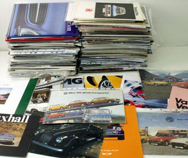 Lot 18-Quantity Of Uk Sales Brochures