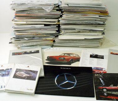 Lot 19-Quantity Of European Sales Brochures