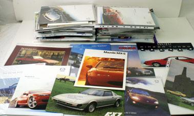 Lot 20-Assorted Japanese & Us Sales Brochures