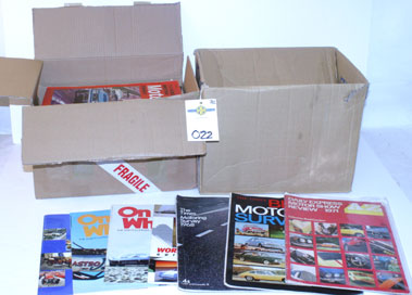 Lot 22-Two Boxes Of Assorted Paperwork