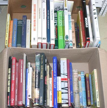 Lot 23-Quantity Of General Motoring Books