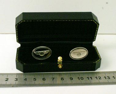Lot 204-Bentley Factory Accessory Shirt Cufflinks