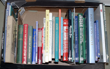 Lot 25-Assorted Marque History Books