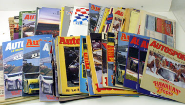 Lot 28-Assorted Le Mans 24hrs Related Literature