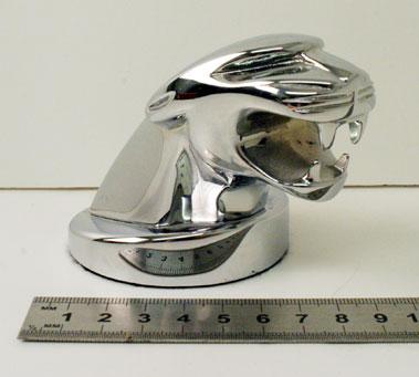 Lot 212-Jaguar Head Paperweight