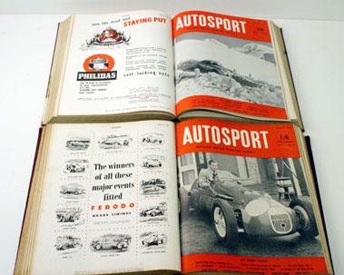 Lot 31-Bound Autosport 1952/1953