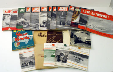 Lot 34-Assorted Motor Sport Related Literature