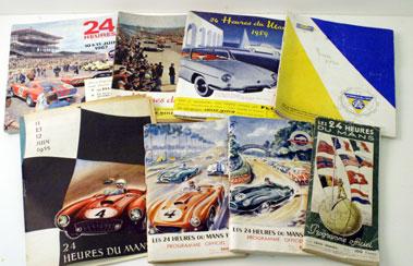 Lot 36-Le Mans 24 Hrs Programmes 1949-1967