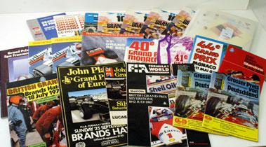 Lot 37-Assorted Race Programmes
