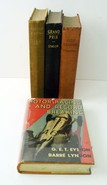 Lot 41-Four Early Motor Racing Books
