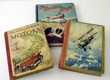 Lot 42-Three Pre-War ChildrenS Transport Books