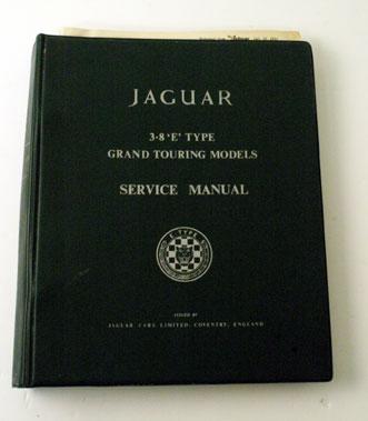 Lot 45-Jaguar E-Type 3.8 Litre Workshop Manual