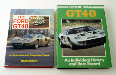 Lot 50-Ford Gt40 Books