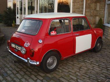 Lot 42-1966 Morris Mini Cooper S