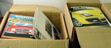 Lot 58-Large Quantity Of Assorted Sales Brochures