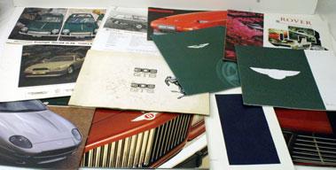Lot 60-Assorted Sales Brochures