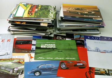 Lot 65-Quantity Of Assorted Sales Brochures
