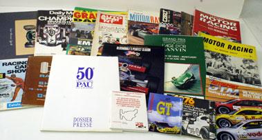 Lot 62-Box Of Assorted Motor Sport Literature