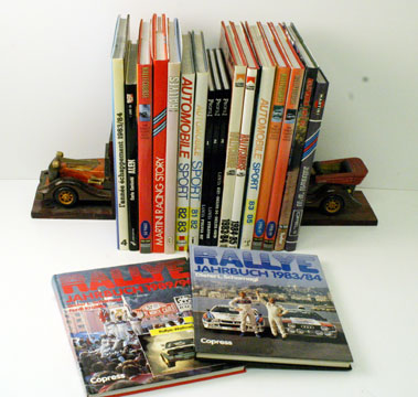 Lot 64-Rallying Related Books & Annuals