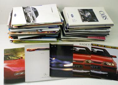 Lot 67-Assorted Sales Brochures