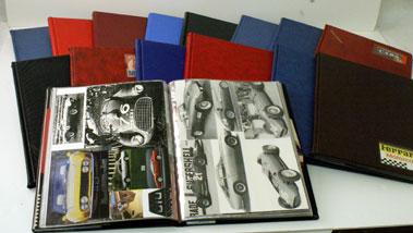Lot 66-Ferrari Scrapbooks