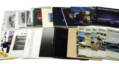 Lot 69-Assorted Jaguar/Daimler Related Literature