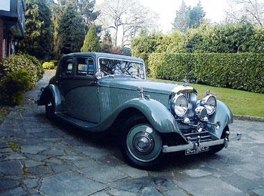 Lot 55-1935 Bentley 3.5 Litre Saloon