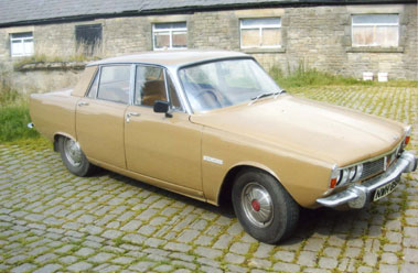 Lot 3-1969 Rover Three Thousand Five