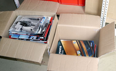 Lot 71-Quantity Of French & Italian Sales Brochures