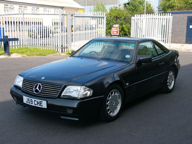 Lot 6-1992 Mercedes-Benz 300 SL