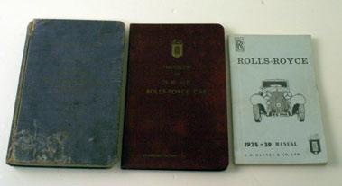 Lot 78-Pre-War Rolls-Royce Literature