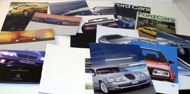 Lot 80-Assorted Sales Brochures