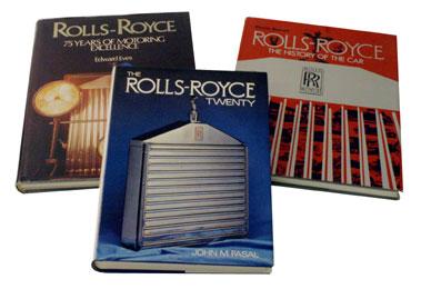 Lot 81-Rolls-Royce Books