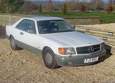 Lot 27-1988 Mercedes-Benz 560 SEC