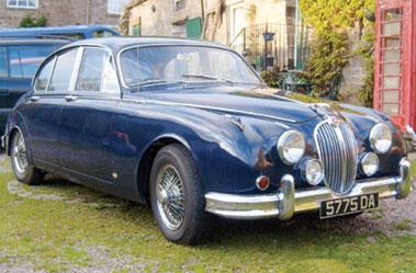 Lot 64-1960 Jaguar MK II 3.4 Litre