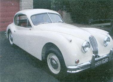 Lot 68-1955 Jaguar XK140 Fixed Head Coupe