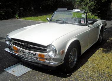 Lot 74-1975 Triumph TR6