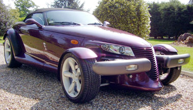 Lot 32-1999 Plymouth Prowler