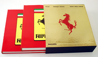Lot 2-Ferrari Catalogue Raisonne Golden Edition