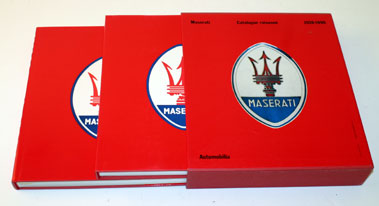 Lot 3-Maserati Catalogue Raisonne 1926-1990