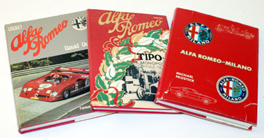 Lot 5-Three Alfa Romeo Books