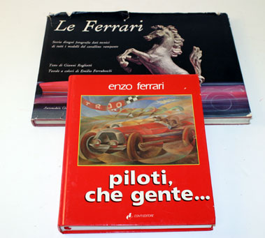Lot 6-Two Ferrari Books In Italian