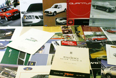 Lot 14-Large Quantity Of Assorted Sales Brochures