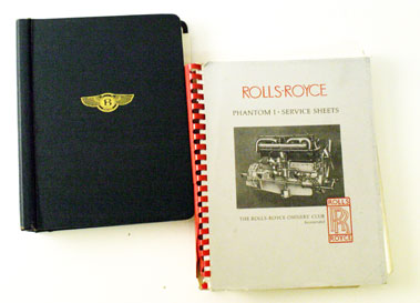 Lot 15-Vintage Rolls-Royce & Bentley Technical Literatu Re