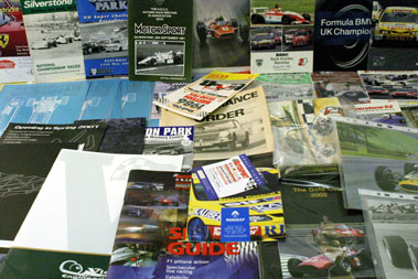 Lot 18-Assorted Motor Racing Literature
