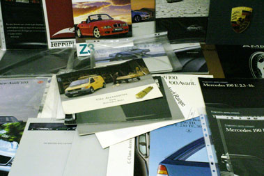 Lot 19-Quantity Of Assorted Foreign Sales Brochures