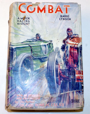 Lot 28-Combat - A Motor Racing History By Barre Lyndon