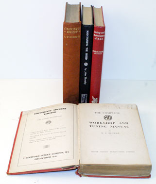 Lot 33-Four Mg Books