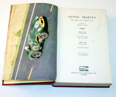 Lot 34-Aston Martin - The Story Of A Sports Car