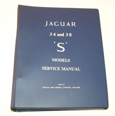 Lot 50-Jaguar S-Type Workshop Manual